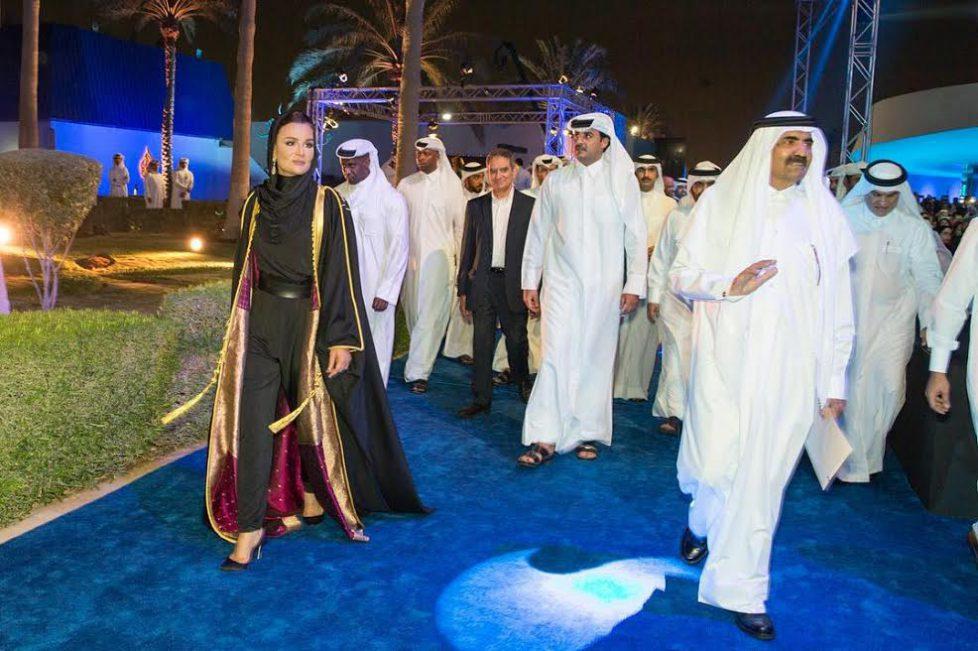 La famille du Qatar aux 20 ans d'Al Jazeera