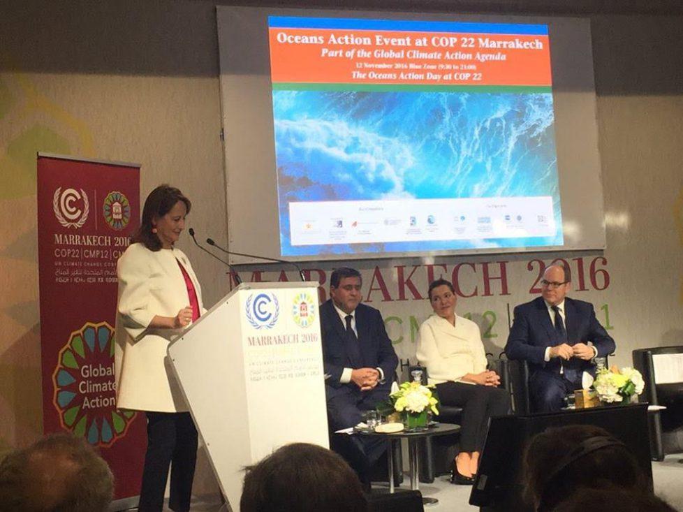 Albert de Monaco à la COP22