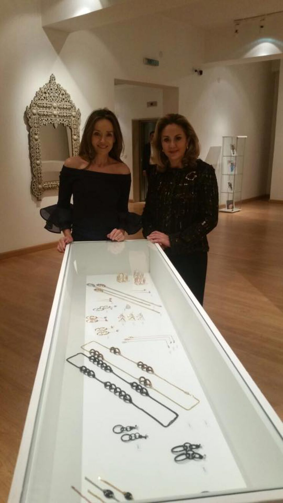 Miriam de Bulgarie présente ses créations en Jordanie