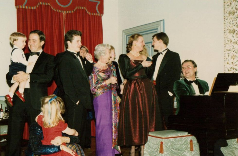 Archives : Réveillon de Noël 1987 à la Cour de Danemark