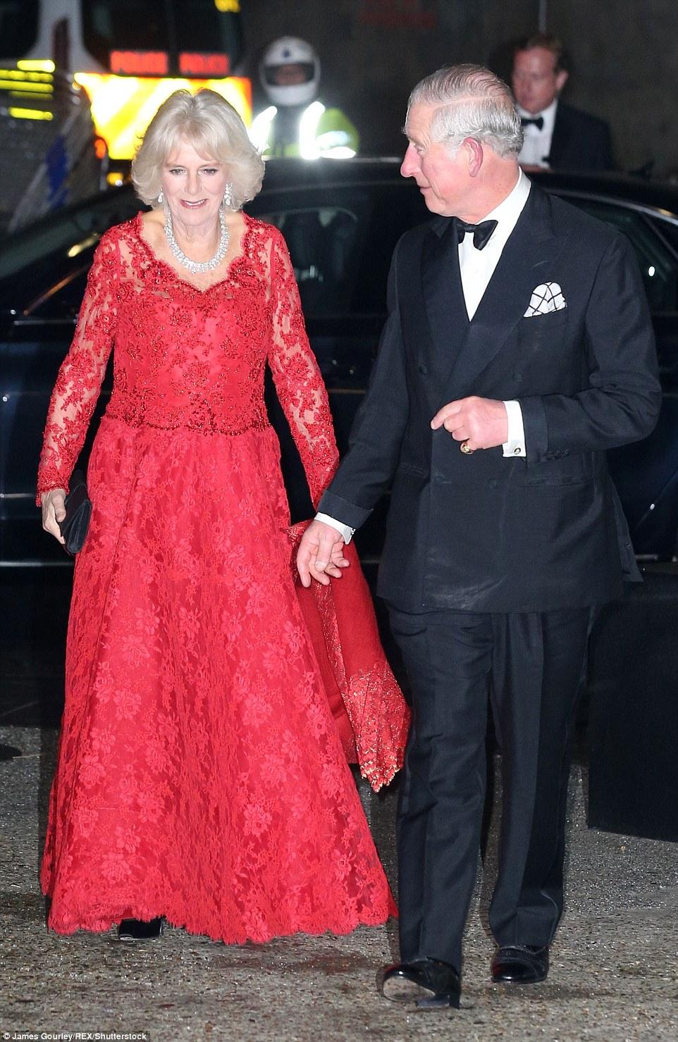 Charles et Camilla au Royal Variety Performance