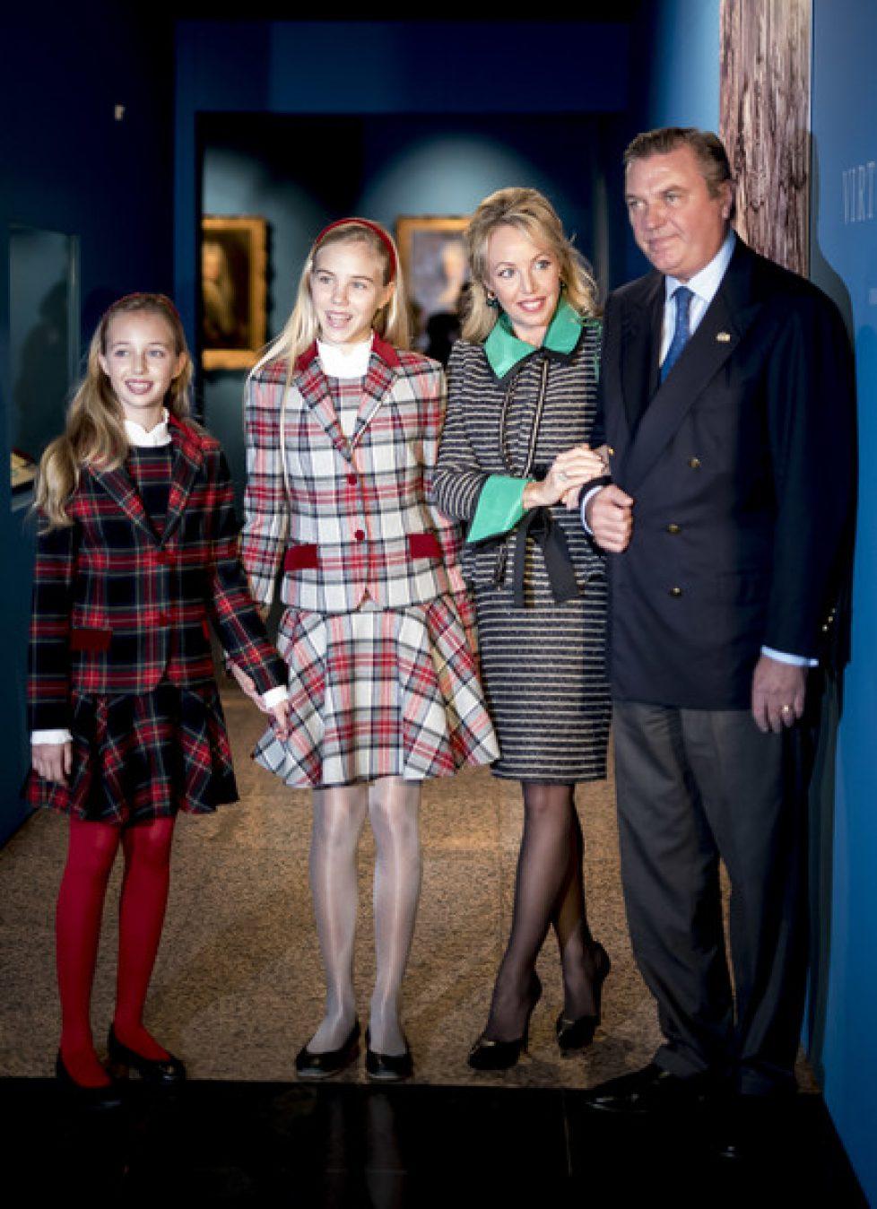 Le duc et la duchesse de Castro à Madrid
