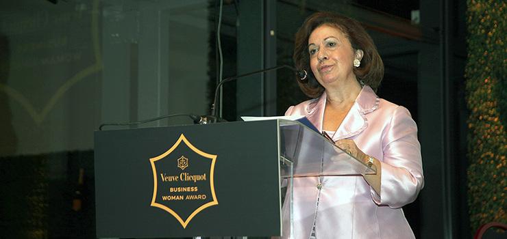 Katherine de Serbie au prix «Veuve Clicquot business woman»