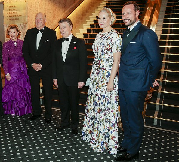 Dîner de gala au Grand Hôtel d'Oslo