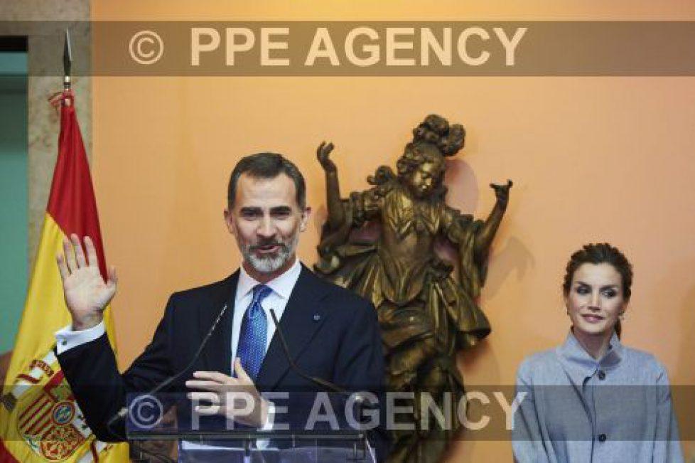 Felipe et Letizia d'Espagne à Lisbonne