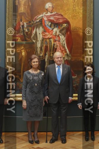 Inauguration d'une exposition sur Carlos III