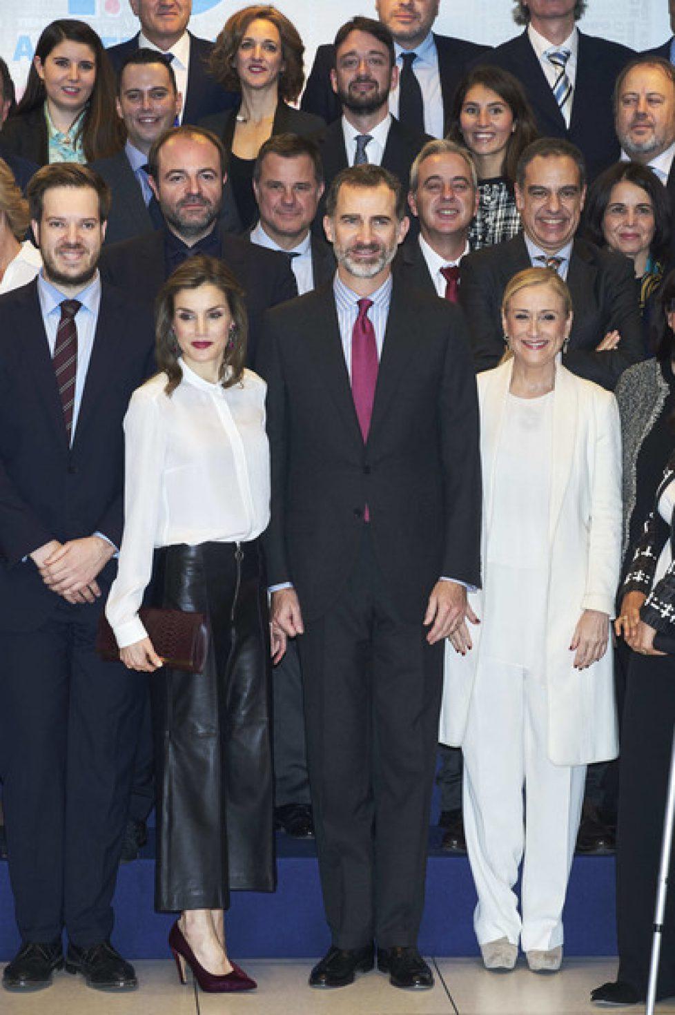 Les souverains espagnols aux 40 ans du groupe Zeta