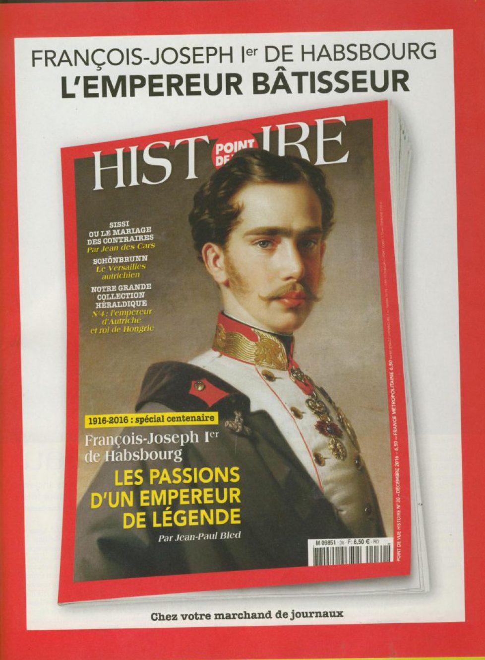 Point de Vue «Histoire» sur François Joseph