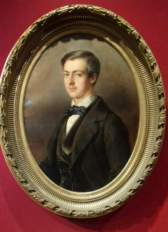 Acquisition d'un portrait du comte de Paris par le château d'Eu