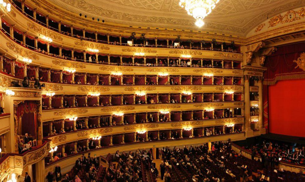 Juan Carlos d'Espagne à La Scala