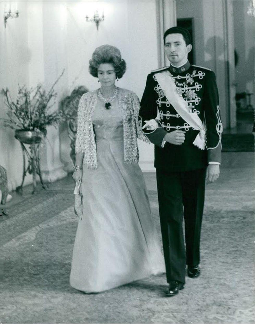 Archives : le mariage du prince Michel de Grèce