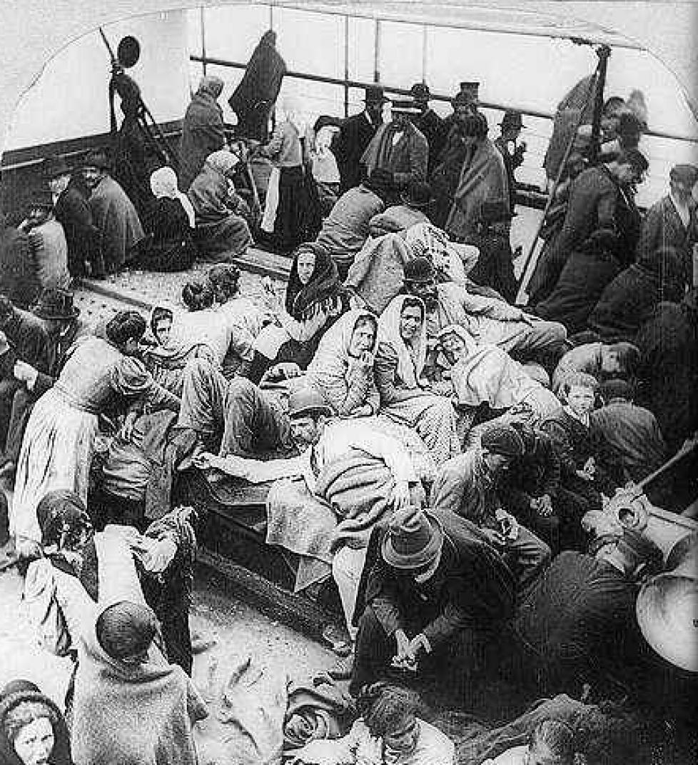 L'histoire des barons de Hirsch : 9ème partie. Vers une émigration massive