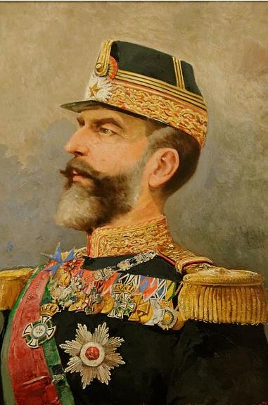 23-carol-ier-de-roumanie-1839-1914-par-tadeusz-ajdukiewicz-palais-cotroceni-a-bucarest