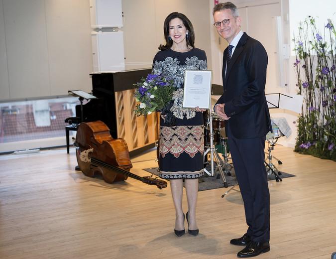 Kronprinsesse Mary modtager Den Berlingske Fonds hæderspris, Kronprinsesse Mary