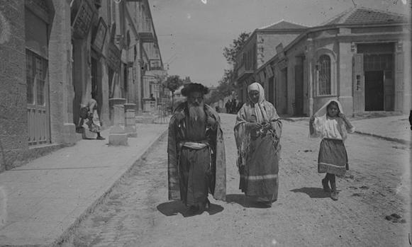 7-famille-juive-a-jerusalem-en-1900