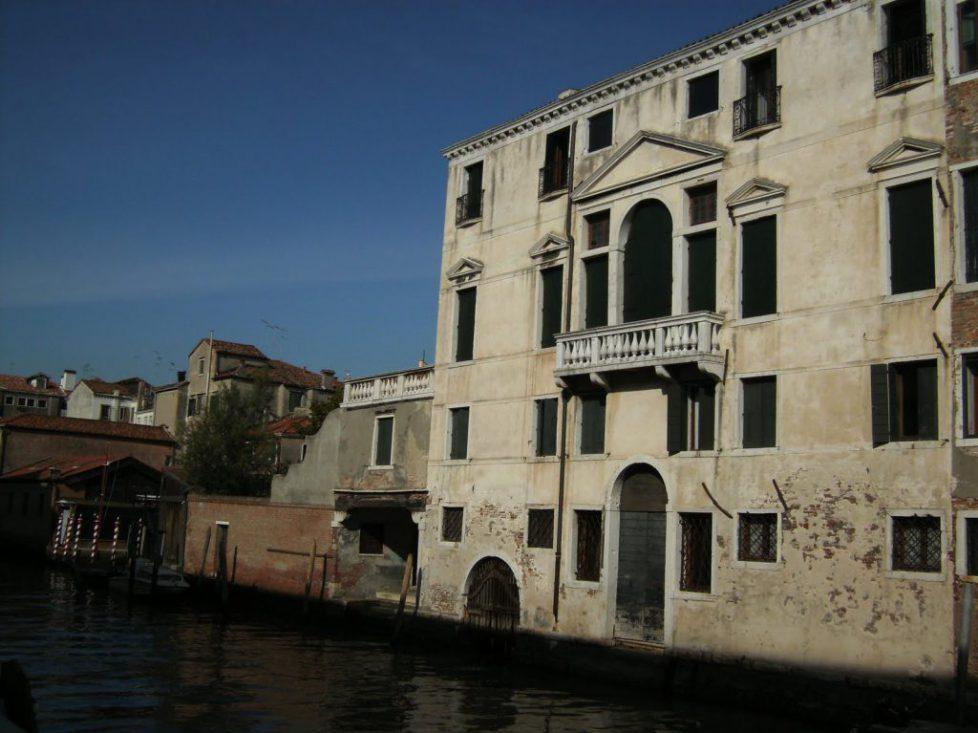 Mise en vente du Palazzo Berlendis
