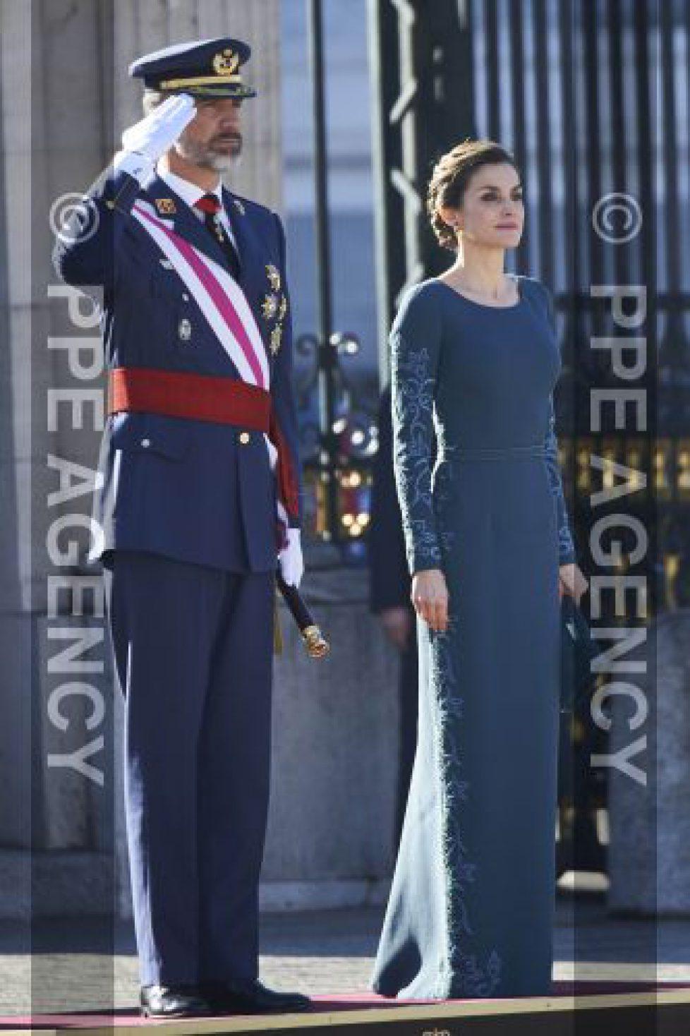 Les souverains espagnols à la «Pascua militar»
