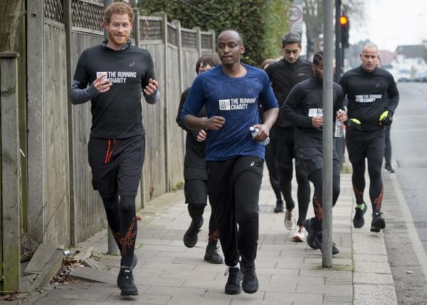 Prince+Harry+Visits+Running+Charity+XERakVBuD09l