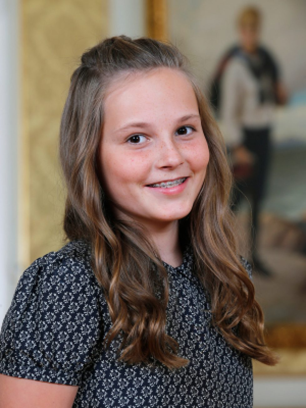 Les 13 ans d'Ingrid Alexandra de Norvège
