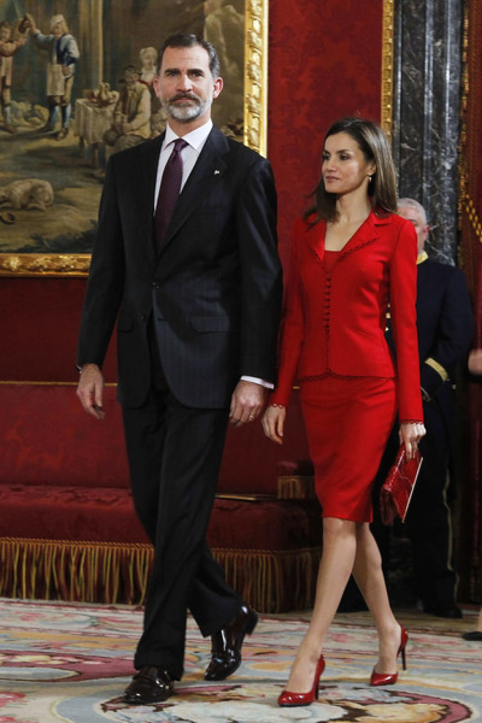 Les souverains espagnols commémorent Cervantès