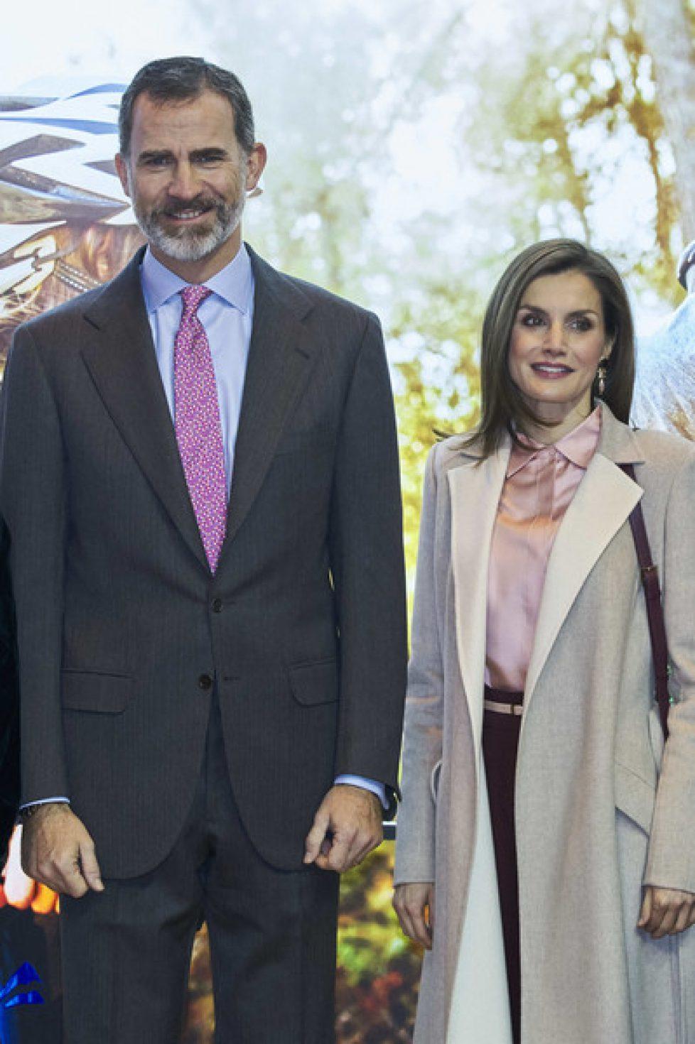 Les souverains espagnols à la foire du tourisme