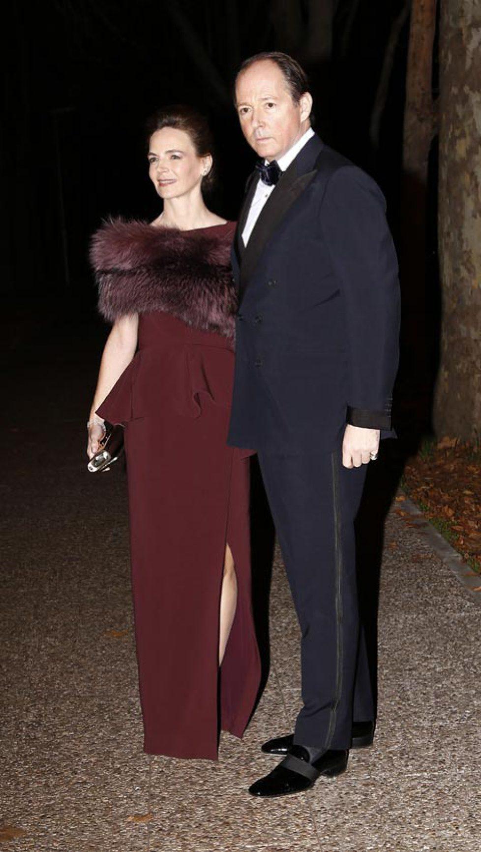 Konstantin et Maria de Bulgarie à une fête au musée du costume à Madrid