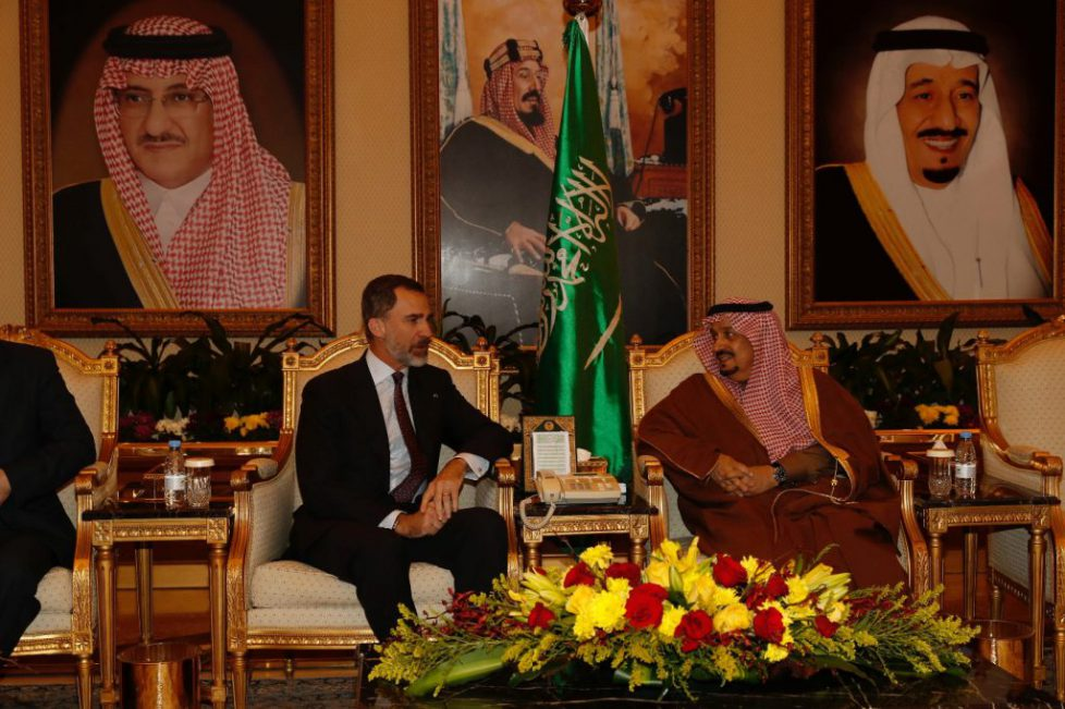 Le roi d'Espagne en Arabie-Saoudite