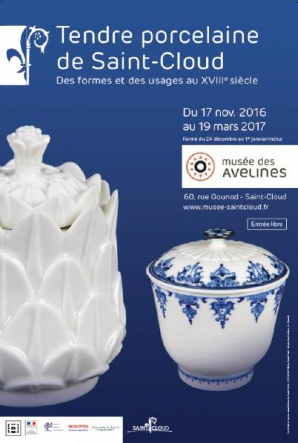Exposition « Tendre porcelaine de Saint-Cloud »