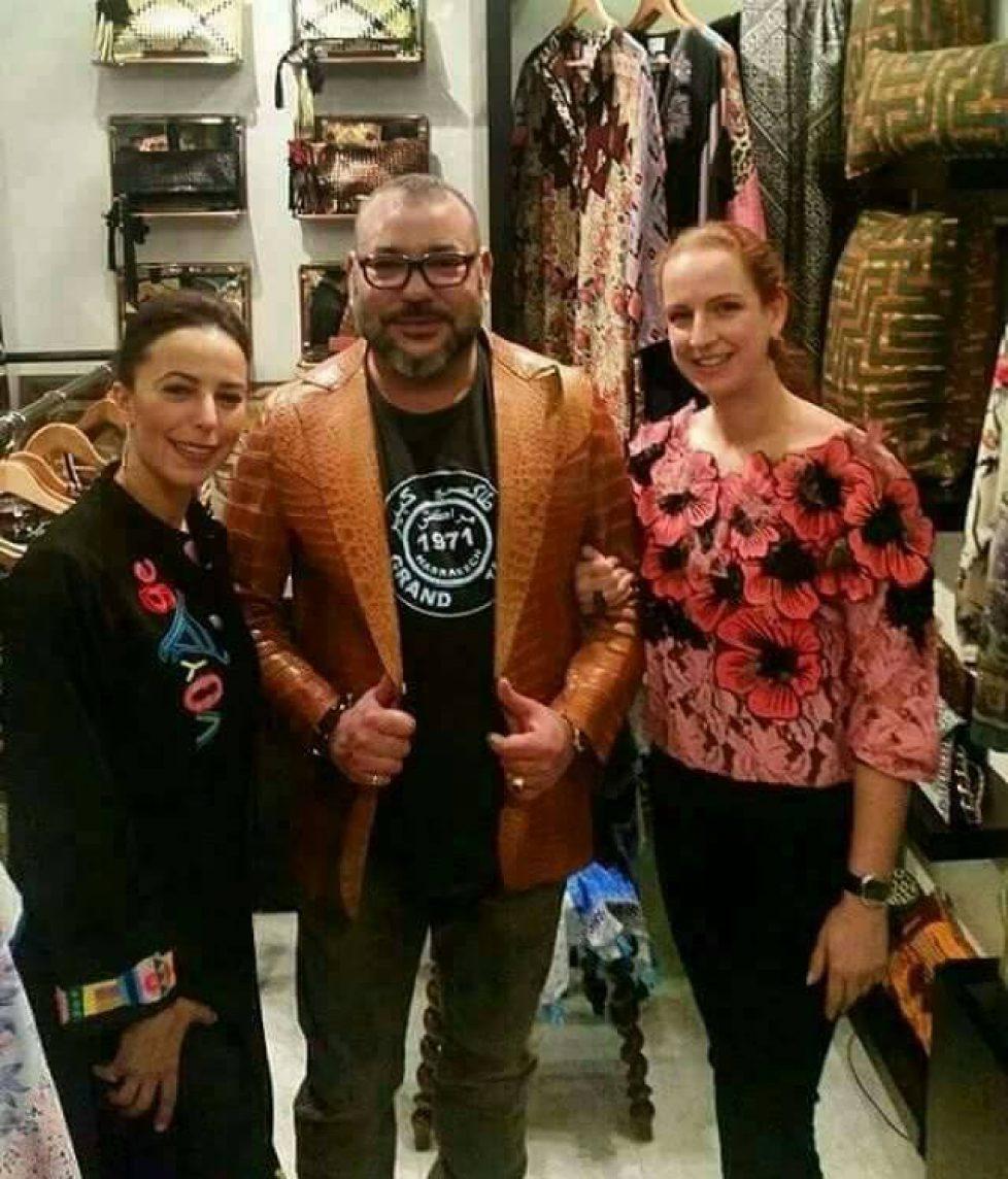 Mohammed VI et Lalla Salma : shopping à Marrakech