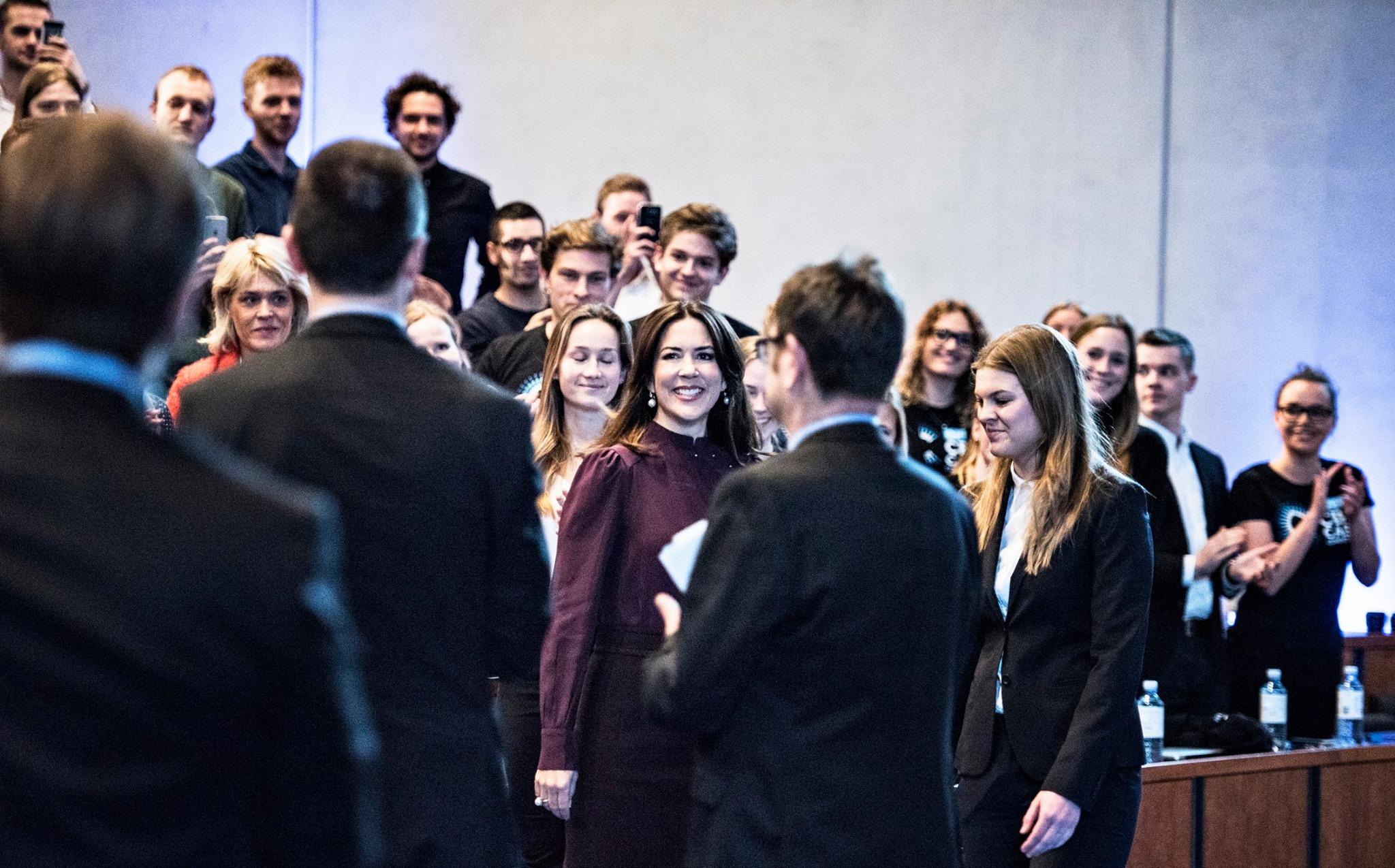 Mary de Danemark à la Copenhague Business School