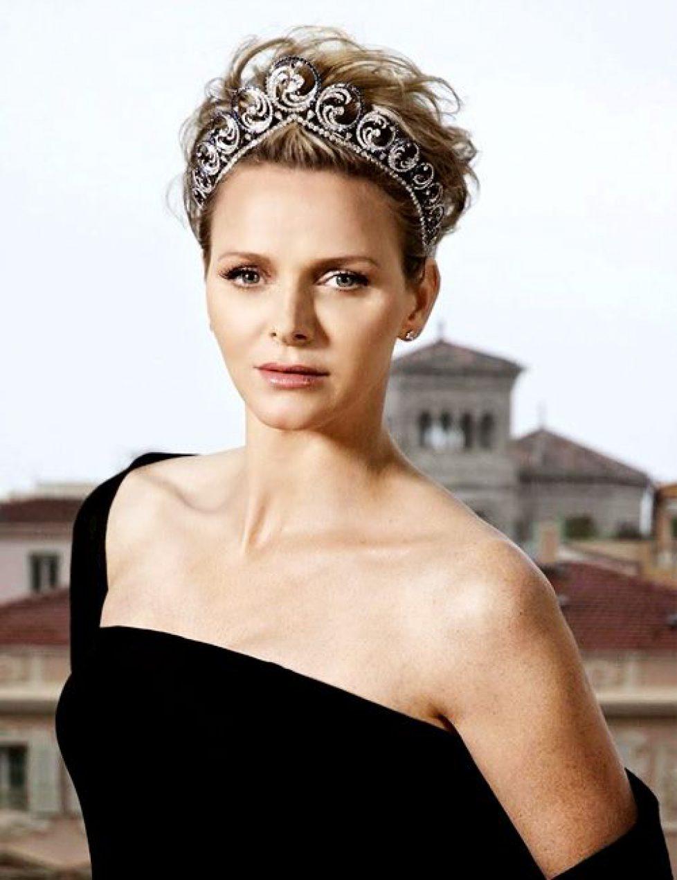 Charlène de Monaco en majesté