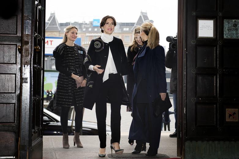 Kronprinsesse Mary åbner modeugen 2017 i København, Kronprinsesse Mary