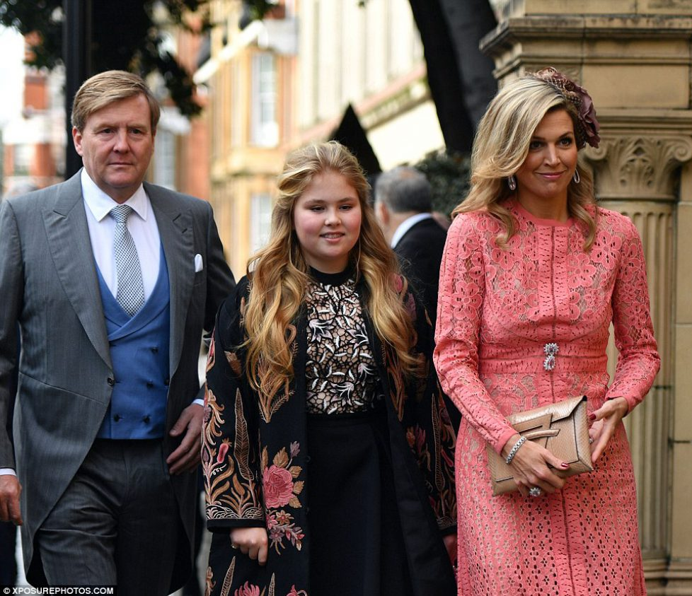 Grand mariage à Londres en présence du Gotha