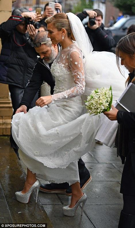 arrivée originale mariage