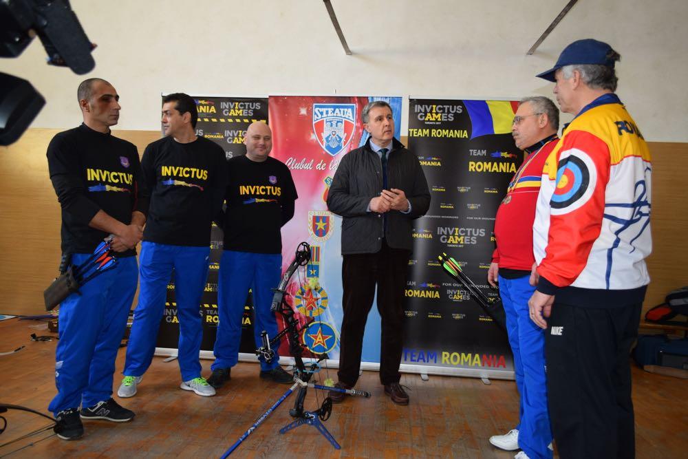 Radu de Roumanie encourage les athlètes de Invictus Games