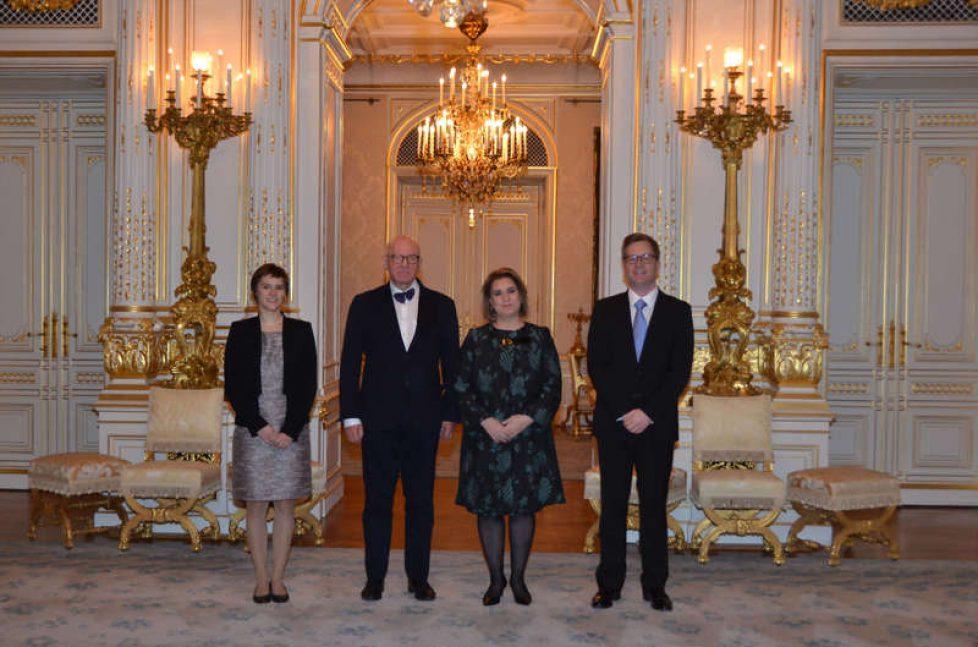 Maria Teresa de Luxembourg reçoit ECPAT