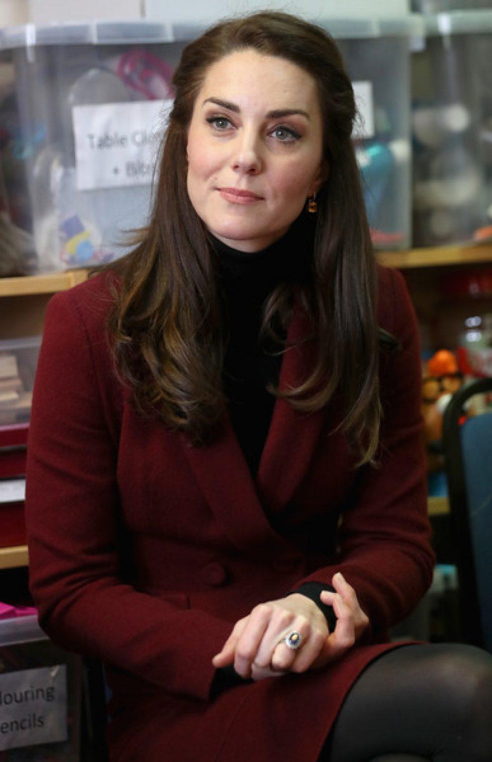 La duchesse de Cambridge en visite au Pays de Galles