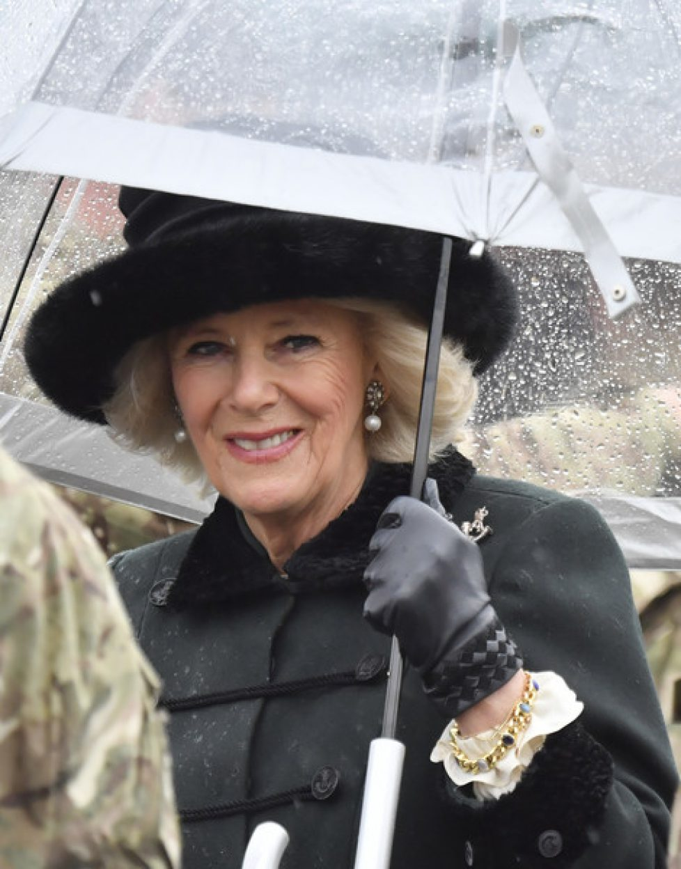 Duchess+Cornwall+Visits+4th+Battalion+Rifles+fllkXEsG07wl