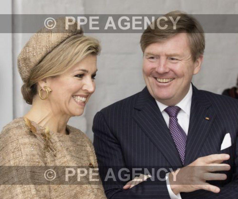 Les souverains néerlandais à Oranienbaum