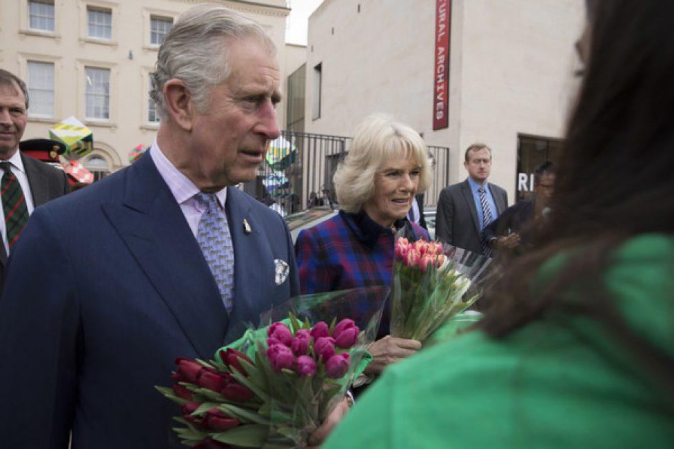 Charles et Camilla à Brixton
