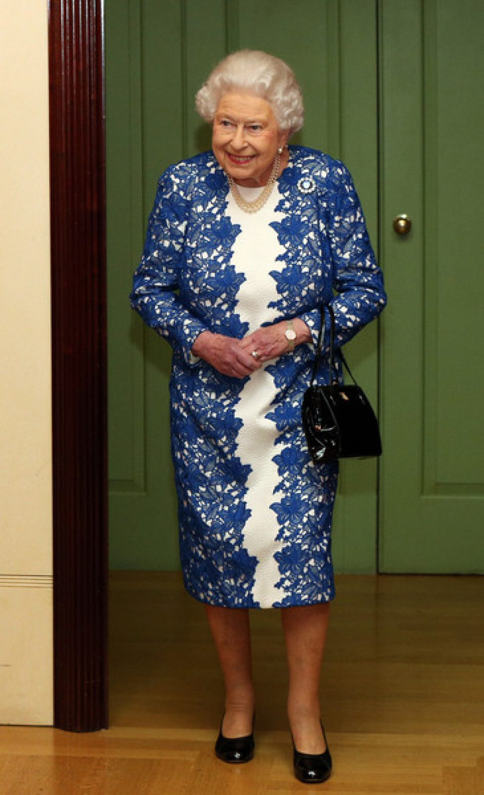 Elizabeth II : réception à la Queen's Gallery