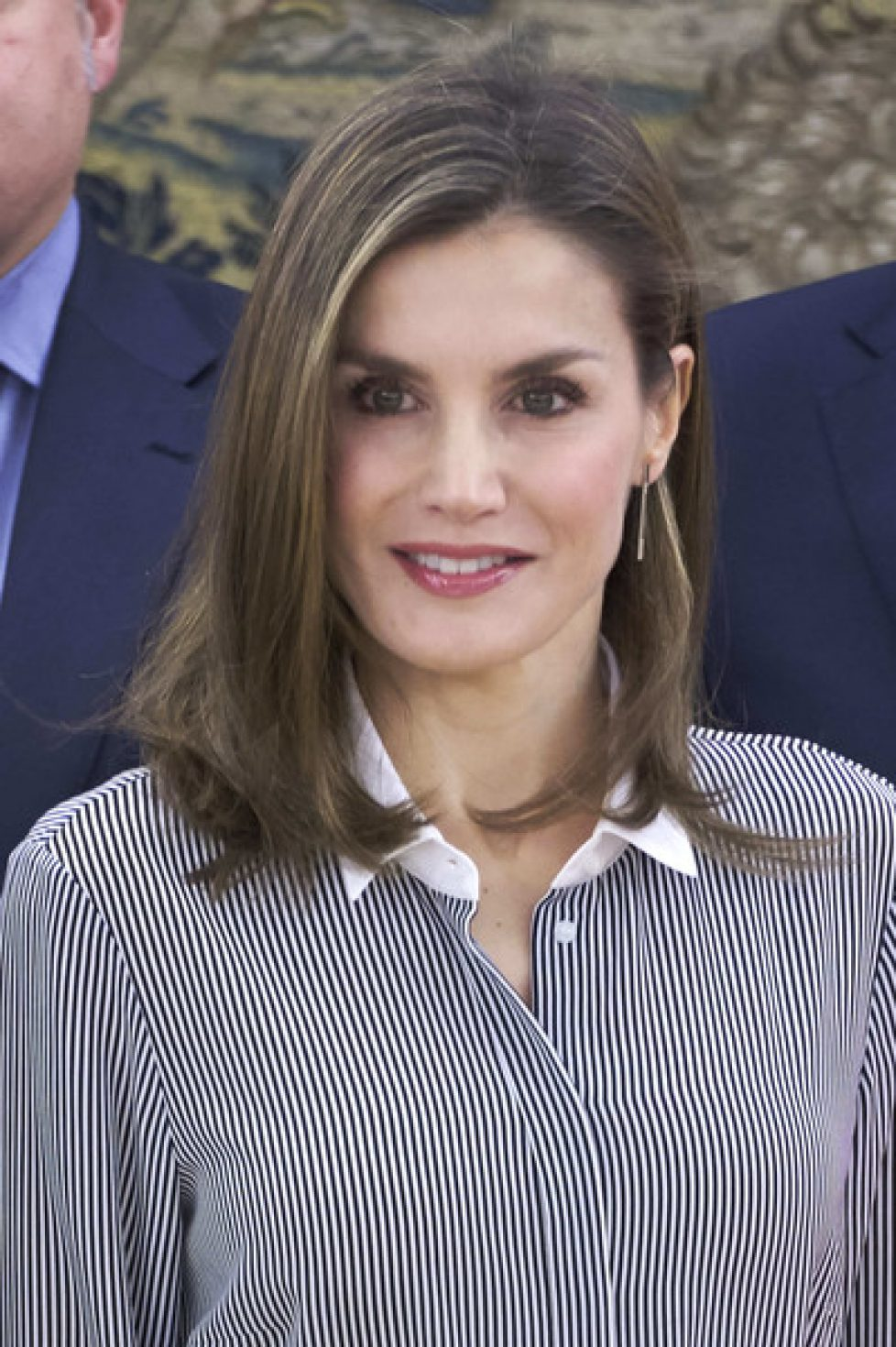 Queen+Letizia+Attends+Audiences+Zarzuela+Palace+q0g-0fOggDul