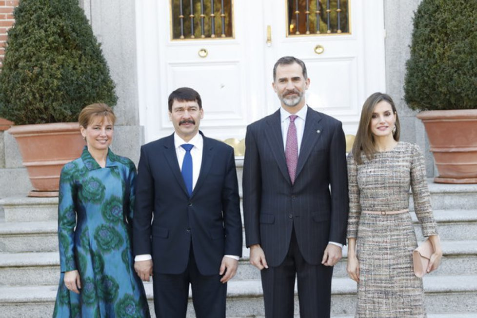 Spanish+Royals+Official+Lunch+Hungarian+President+Ac_EIilKJ6Pl