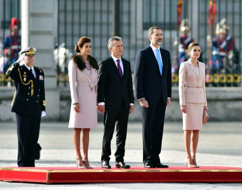Spanish+Royals+Receive+President+Mauricio+PZR-2Bo9CQEl