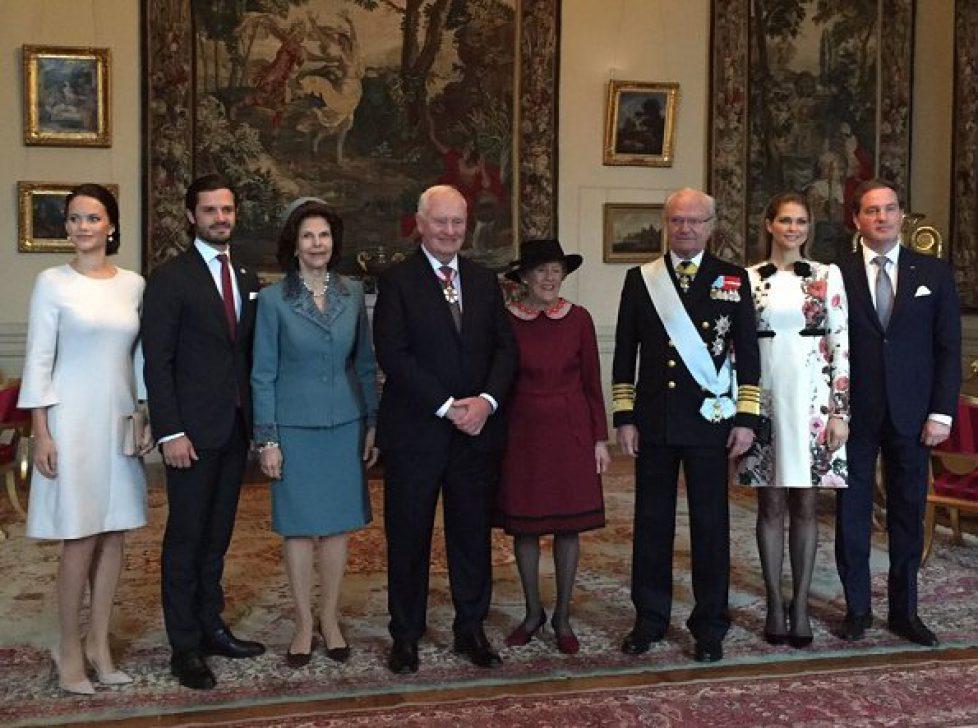 Visite d'Etat du Gouverneur général du Canada en Suède