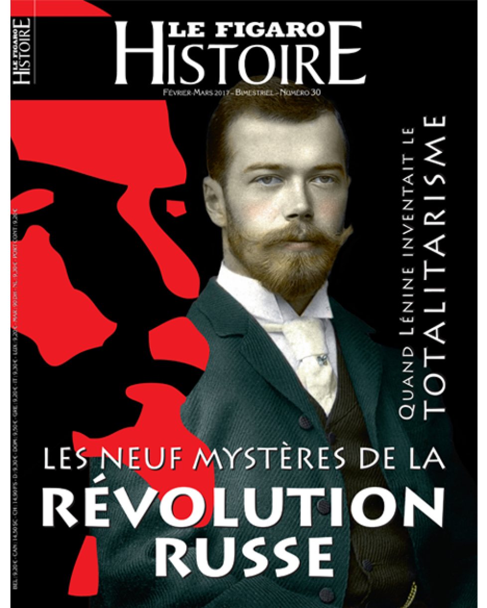 Figaro Histoire «Les neuf mystères de la révolution russe»