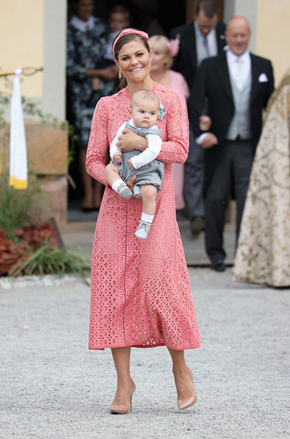 Victoria de Suède et Maxima des Pays-Bas : une robe pour deux