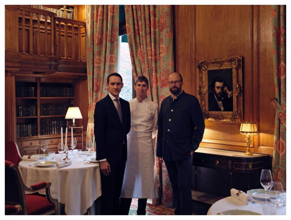 2 étoiles au Guide Michelin pour le restaurant «Le Clarence»