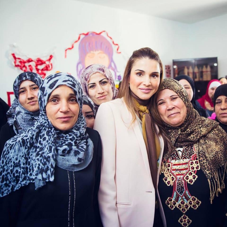 Rania De Jordanie Les Femmes A L Honneur Noblesse Royautes