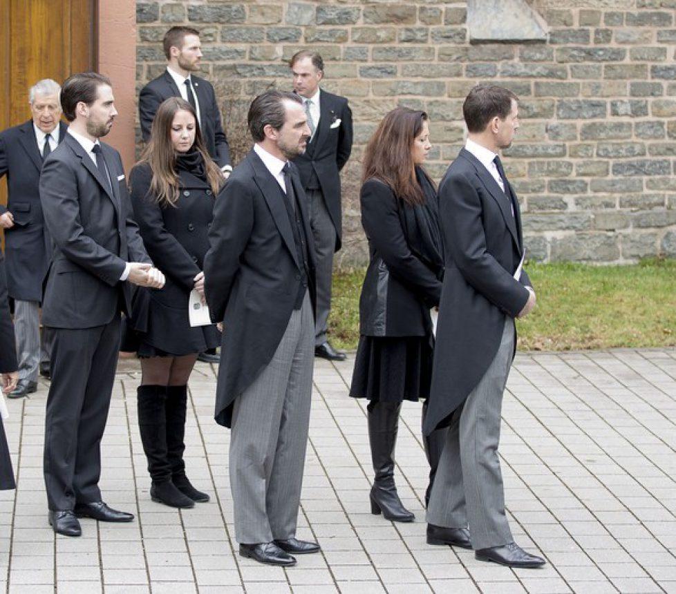 Prince Richard of Sayn-Wittgenstein-Berleburg funeral service RPE / Albert Nieboer /Netherlands OUT / Point de Vue Out